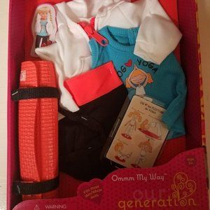 """Our Generation Yoga Outfit Playset Fits Most 18"""" D"""
